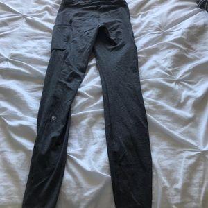 lululemon athletica Other - Grey Lululemon speed up tights (pockets)